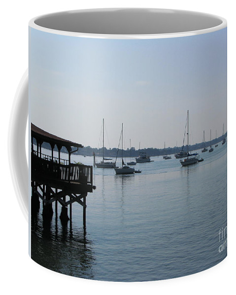Art For The Wall...patzer Photography Coffee Mug featuring the photograph No Wind by Greg Patzer