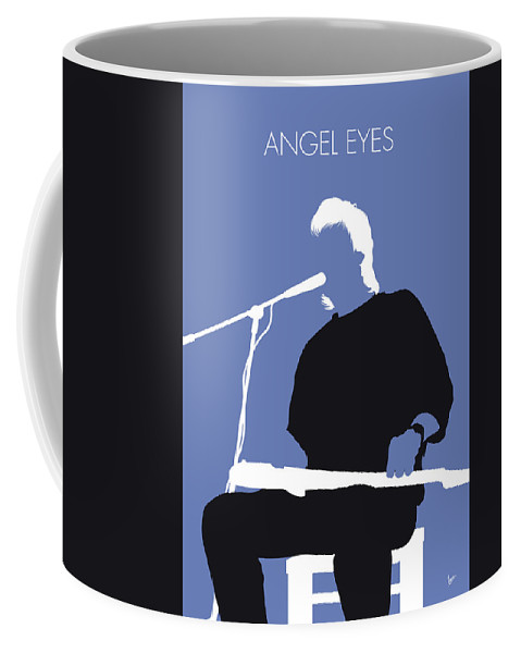Jeff Coffee Mug featuring the digital art No208 My Jeff Healey Minimal Music Poster by Chungkong Art