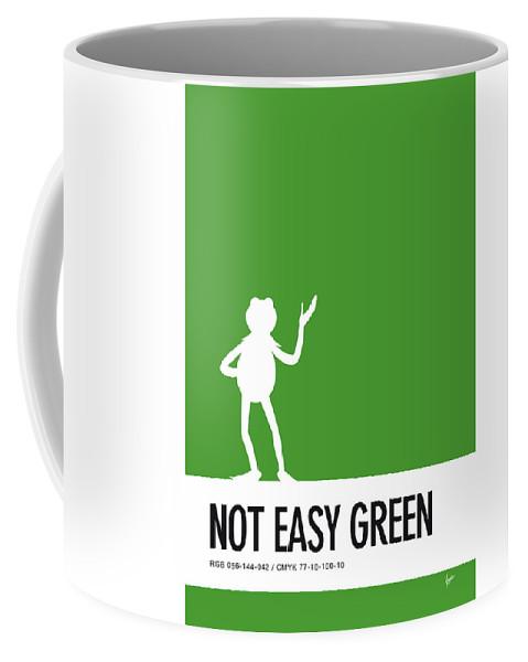 My Coffee Color Code Poster No25 Mug Minimal Kermit w8Nn0m