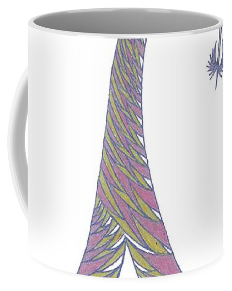 Abstract Coffee Mug featuring the drawing No.30 by Robert Nickologianis