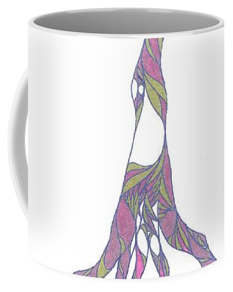 Abstract Coffee Mug featuring the drawing No.31 by Robert Nickologianis