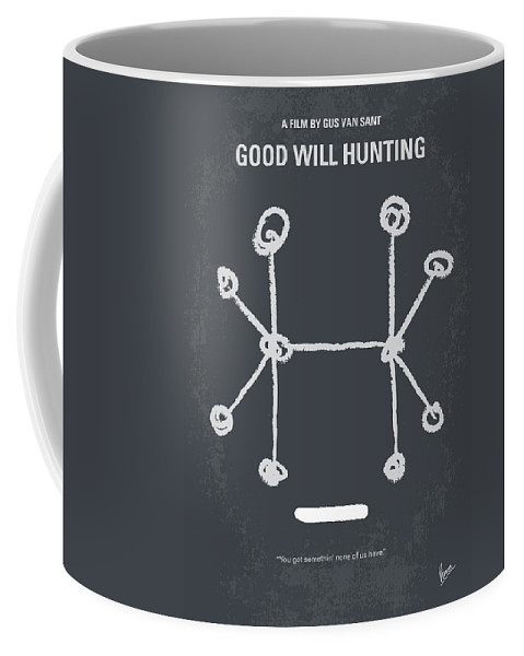 Good Coffee Mug featuring the digital art No461 My Good Will Hunting Minimal Movie Poster by Chungkong Art