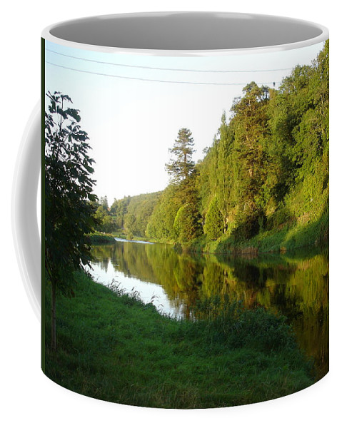 Nore Coffee Mug featuring the photograph Nore Reflections I by Kelly Mezzapelle