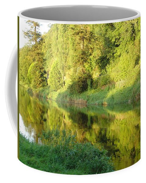 Nore Coffee Mug featuring the photograph Nore Reflections II by Kelly Mezzapelle