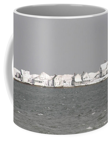Nor'easter Coffee Mug featuring the photograph Nor'easter Hits Sandy Neck by Charles Harden