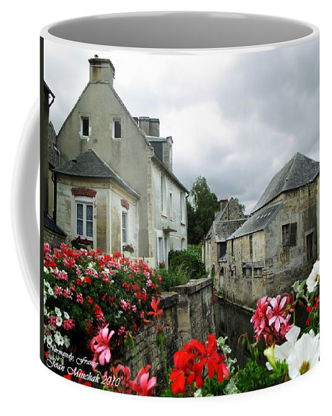 Normandy Coffee Mug featuring the photograph Normandy Arrival by Joan Minchak