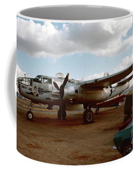 North American B-25 Mitchell Coffee Mug featuring the photograph North American B-25 Mitchell by Oleg Konin