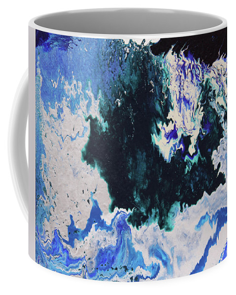 Fusionart Coffee Mug featuring the painting North Shore by Ralph White