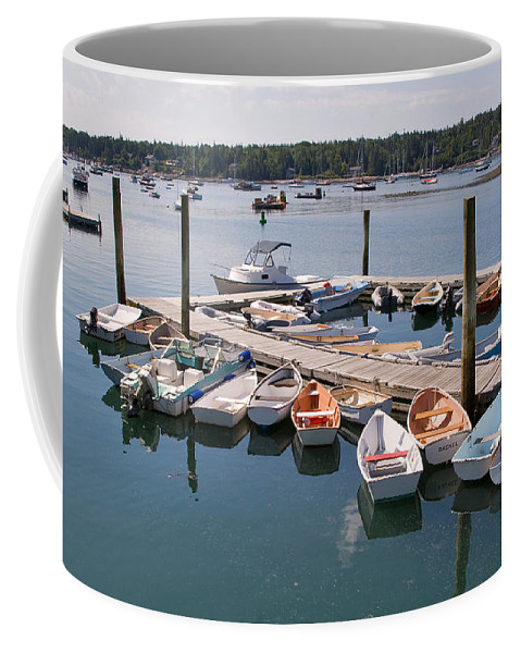 Travel Coffee Mug featuring the photograph Northeast Harbor Maine by Louise Heusinkveld