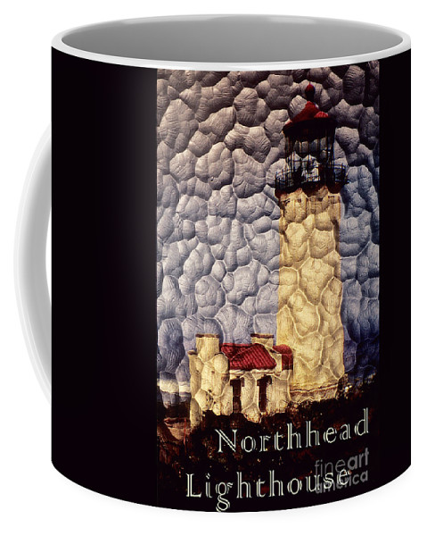 Northhead Light Coffee Mug featuring the photograph Northhead Lighthouse by Sharon Elliott