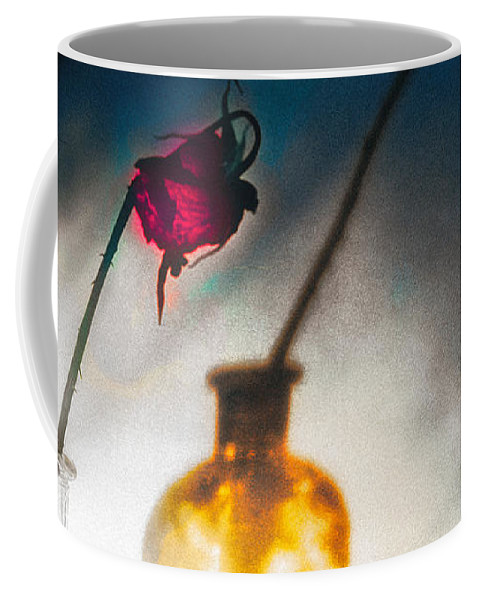 Flower Coffee Mug featuring the photograph Notes Forgotten by Bob Orsillo