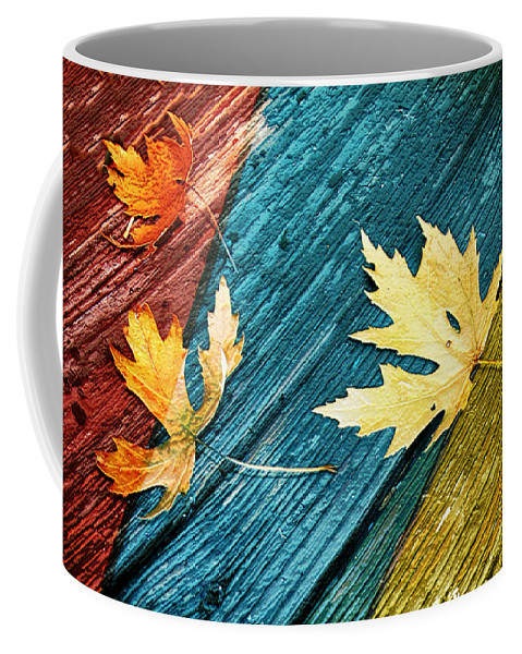 November Coffee Mug featuring the photograph November by Linda Sannuti