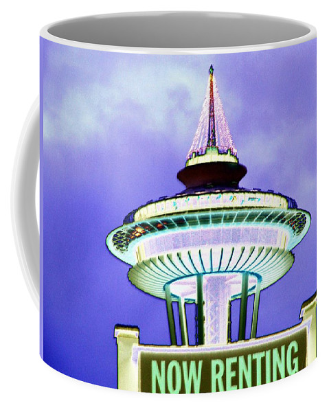 Seattle Coffee Mug featuring the photograph Now Renting by Tim Allen