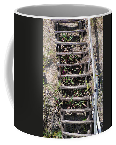 Stairs Coffee Mug featuring the photograph Nowhere Stairs by Rob Hans