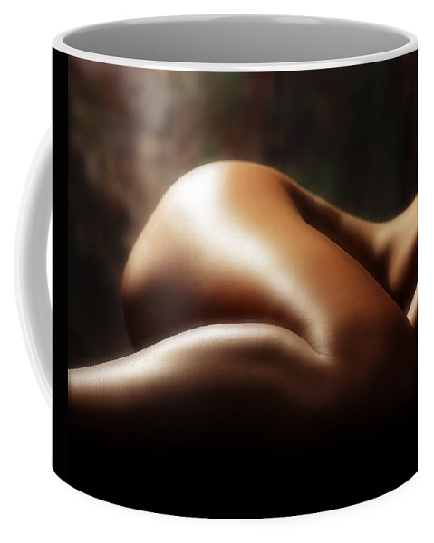 Nude Coffee Mug featuring the photograph Nude 1 by Anthony Jones
