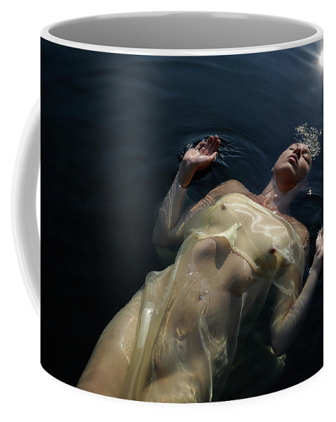 Coffee Mug featuring the photograph Queen Of The Lake by Adele Aron Greenspun