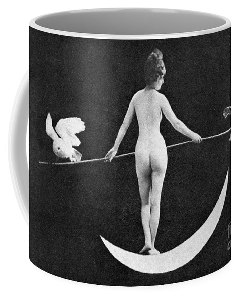 Coffee Mug featuring the painting Nude Allegory, 1890s by Granger