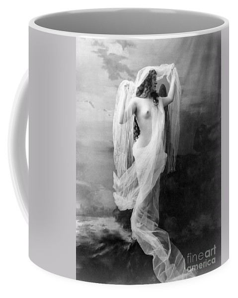 1900 Coffee Mug featuring the painting Nude, C1900 by Granger