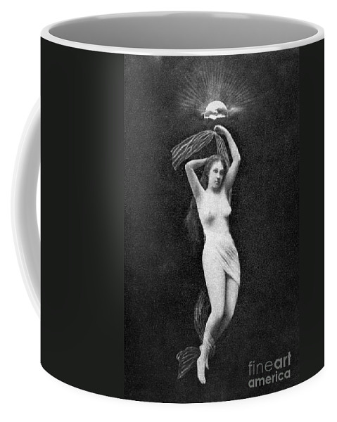 Coffee Mug featuring the painting Nude Floating, 1890s by Granger