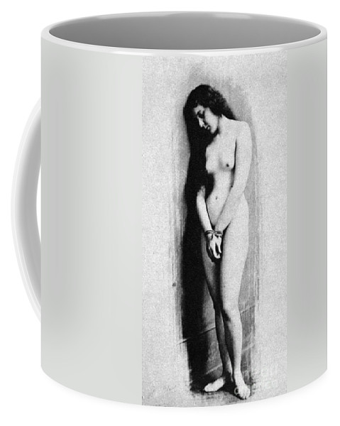 1901 Coffee Mug featuring the photograph Nude Slave, 1901 by Granger