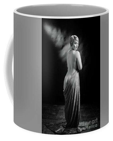 Nude Coffee Mug featuring the photograph Nude Woman Model 1722 018.1722 by Kendree Miller