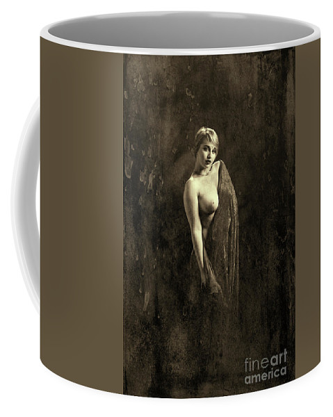 Nude Coffee Mug featuring the photograph Nude Woman Model 1722 019.1722 by Kendree Miller