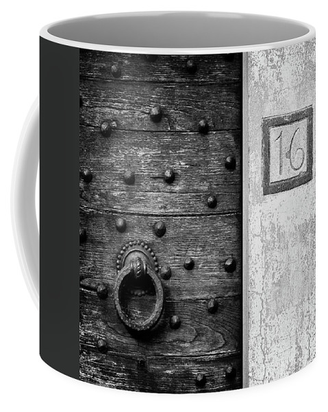 Number 16 Coffee Mug featuring the photograph Number 16 by Dave Bowman