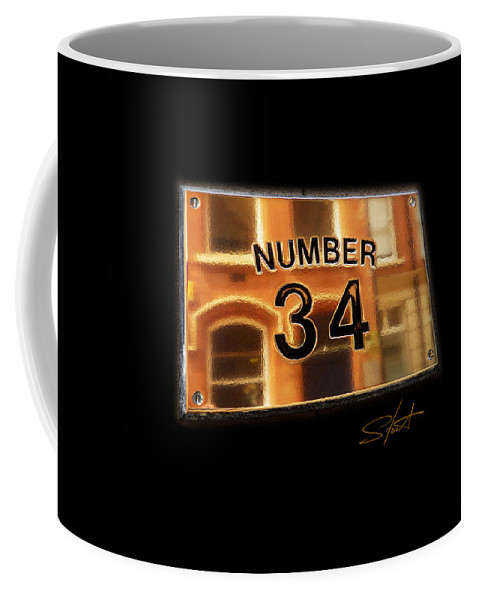 Number Coffee Mug featuring the photograph Number 34 by Charles Stuart
