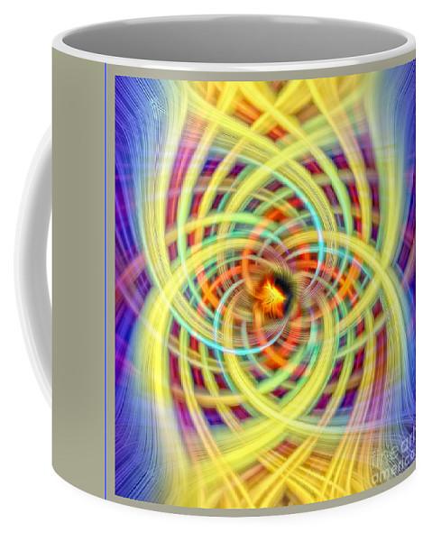 Spiritual Art Coffee Mug featuring the photograph Number Four by Anna Sheradon