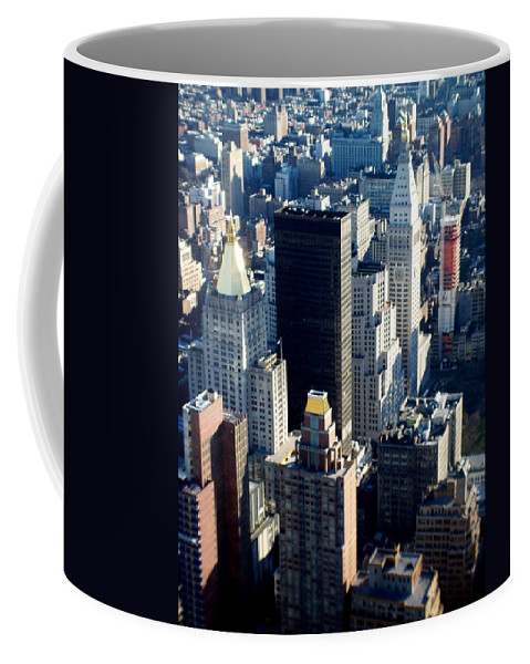 Nyc Coffee Mug featuring the photograph Nyc 2 by Anita Burgermeister