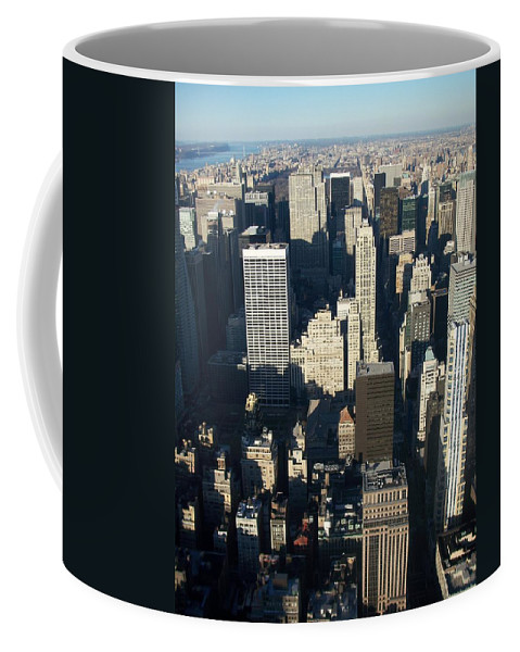 Nyc Coffee Mug featuring the photograph Nyc 5 by Anita Burgermeister