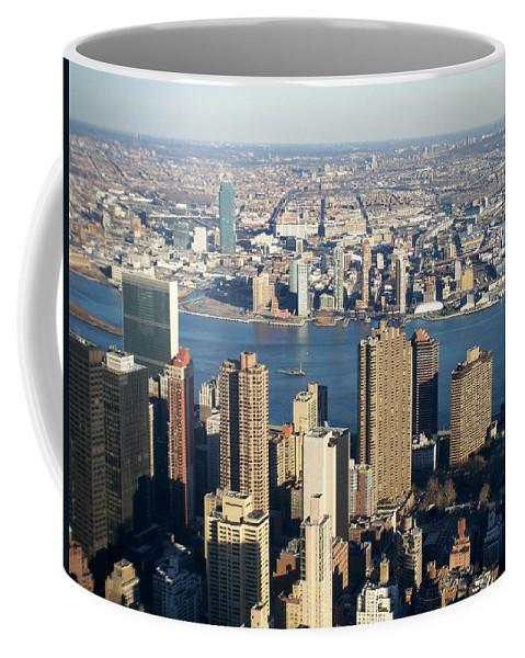 Nyc Coffee Mug featuring the photograph Nyc 6 by Anita Burgermeister