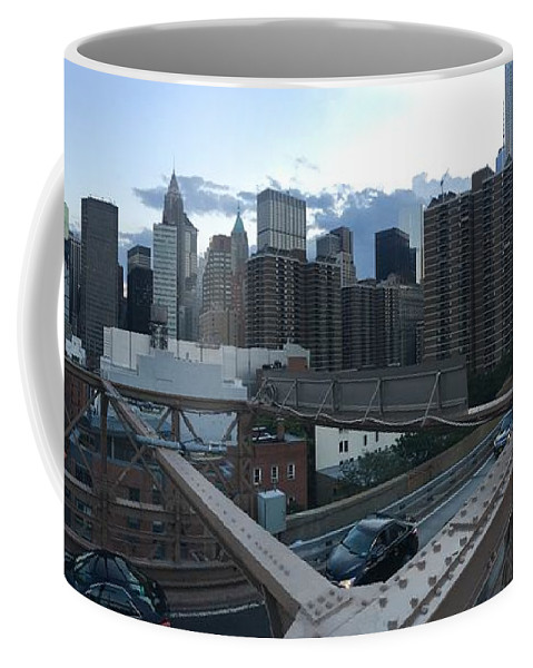 Coffee Mug featuring the photograph NYC by Ashley Torres