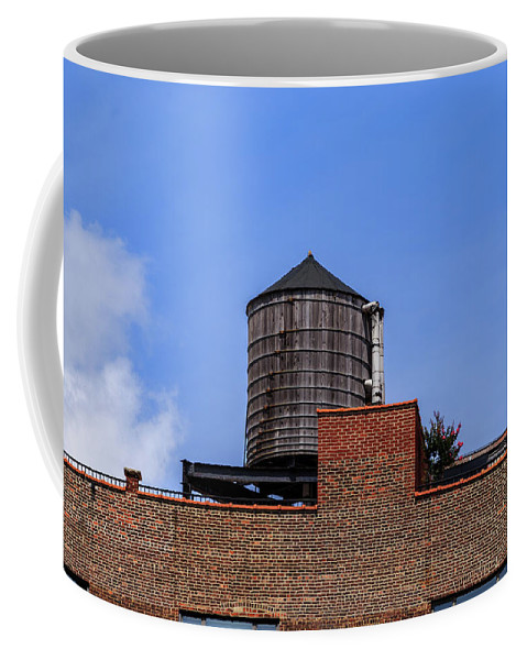 Architecture Coffee Mug featuring the photograph Nyc Water Tank by Charles A LaMatto