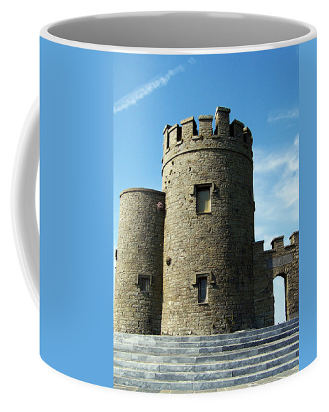 Irish Coffee Mug featuring the photograph O Brien's Tower Cliffs Of Moher Ireland by Teresa Mucha