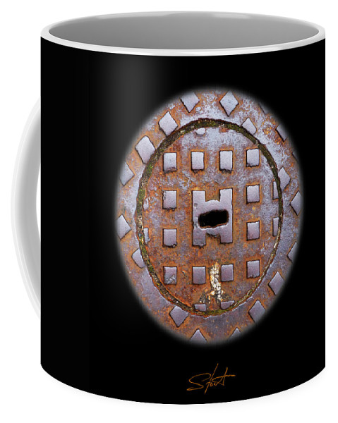 Cast Iron Coffee Mug featuring the photograph O by Charles Stuart