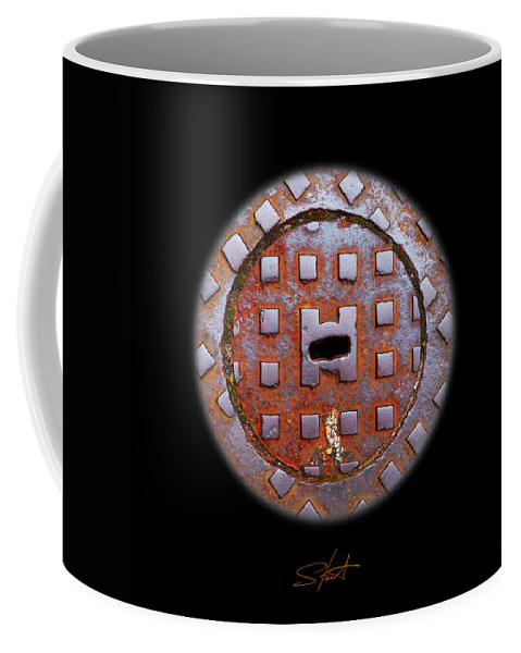 Face Coffee Mug featuring the photograph O2 by Charles Stuart