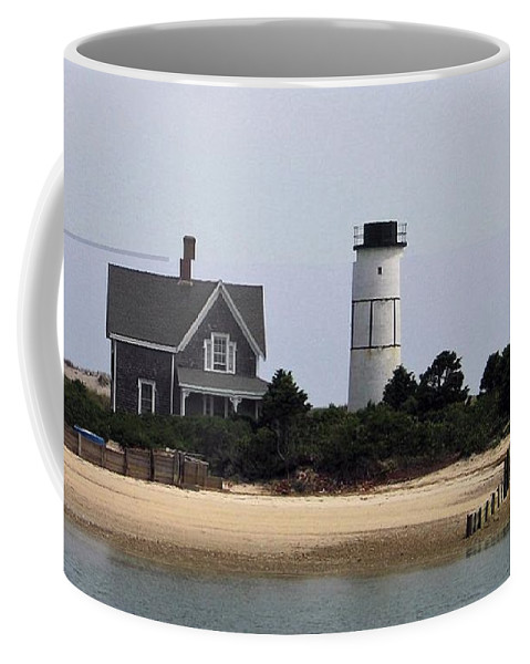 Ocean Coffee Mug featuring the photograph Ocean Cottage by Charles HALL