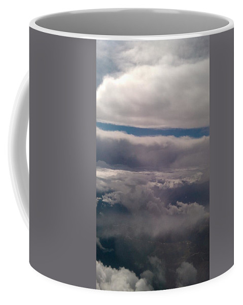 Clouds Coffee Mug featuring the photograph Ocean In The Sky by Tamivision