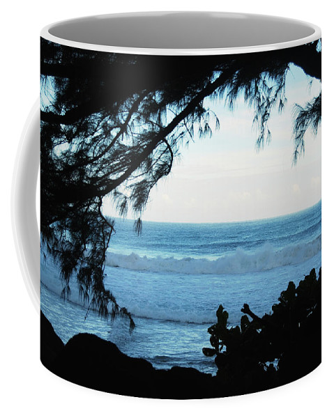 Hawaii Coffee Mug featuring the photograph Ocean Silhouette by Michael Peychich