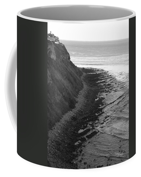 Beaches Coffee Mug featuring the photograph Oceans Edge by Shari Chavira