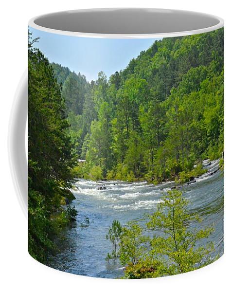 River Coffee Mug featuring the photograph Ocoee River by Carol Bradley