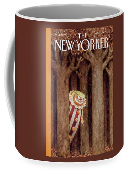 October Surprise Coffee Mug featuring the drawing October Surprise by Carter Goodrich