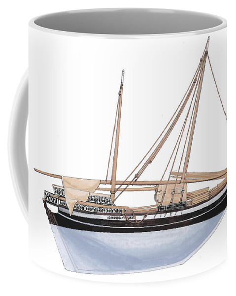 Odam Coffee Mug featuring the painting Odam by The Collectioner