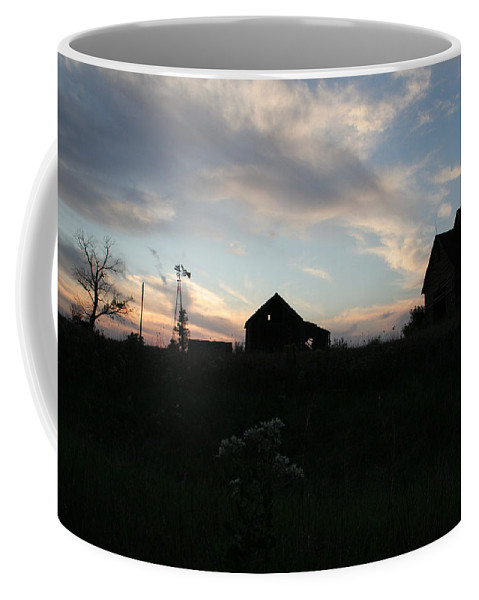 Abandon Coffee Mug featuring the photograph Odell Dusk by Dylan Punke