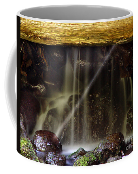 Water Trickle Coffee Mug featuring the photograph Of Light And Mist by Peter Piatt