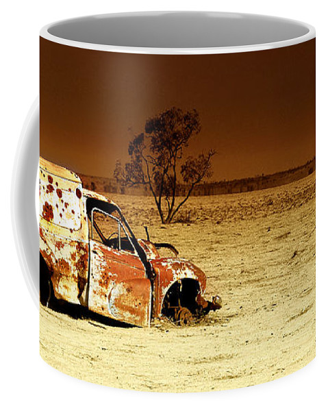 Transportation Coffee Mug featuring the photograph Off Road by Holly Kempe