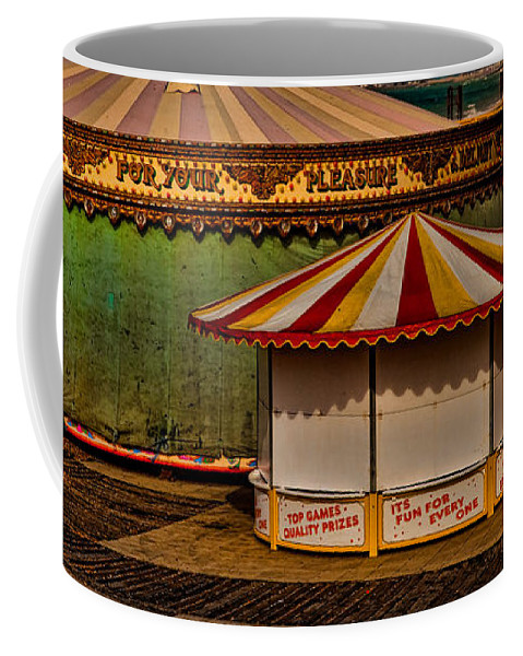 Carousel Coffee Mug featuring the photograph Off Season by Chris Lord