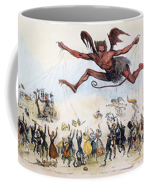 1834 Coffee Mug featuring the photograph Office Hunters Of 1834: by Granger