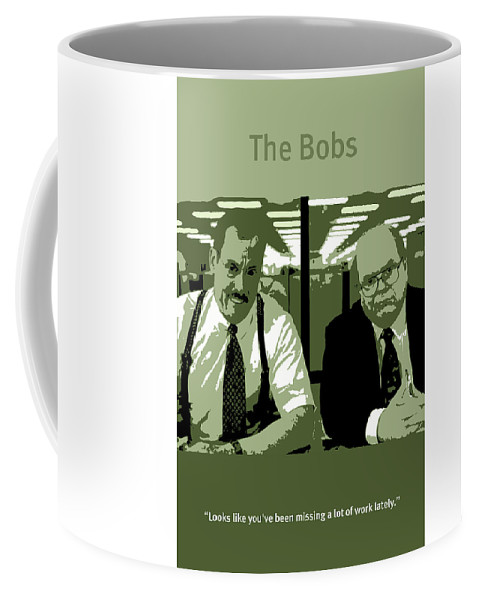 office space coffee mug. Front Right View Office Space Coffee Mug